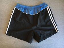 ADIDAS Shorts 90s Vtg Tennis Nylon 3-Stripe Soccer Athletic L Running
