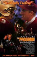 THE PROGRAM Movie POSTER 11x17 James Caan Craig Sheffer Kristy Swanson Halle