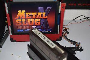 Metal slug X Neo geo Mvs working great authentic