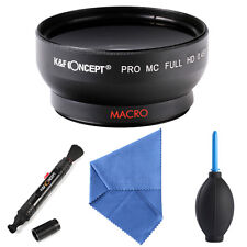 K&F Concept Multi-coated 58mm 0.45X Super Wide Angle Lens + Macro for Canon EOS