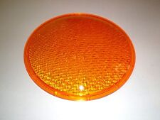 "12"" Inch Yellow Traffic Signal Light Lens PLASTIC NEW"