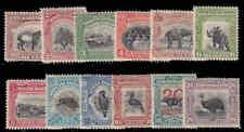 North Borneo #167-178 Mint