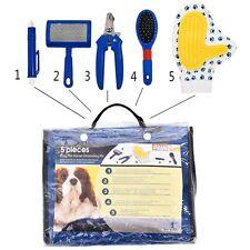 Pet Dog Cat Brushes Set Combs Rakes Dog Cat Grooming Brush Comb Tools Supplies