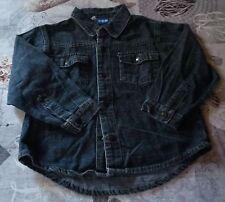 chemise veste bleu imitation jean's garçon de chez TCF- taille 5 ans (108cm)