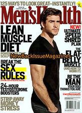 Men's Health 9/12,Liam Hemsworth,September 2012,NEW