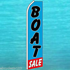 Boat Sale Feather Flutter Flag Swooper Advertising Sign Bow Banner