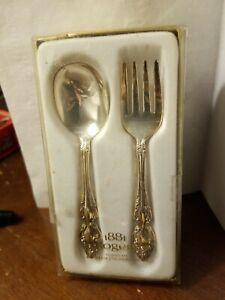 Oneida Silverplate Childs Set Vintage
