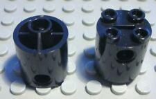 Lego Stein rund 2x2x2 Schwarz 2 Stück                                    (159 #)
