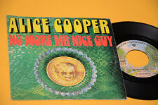 """ALICE COOPER 7"""" NO MORE...1°ST ORIG FRANICA 1973 UNIQUE RARE COVER !!!!!!!!!!!!"""