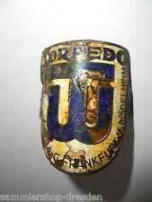 26822 Steuerkopfschild Schild Signet 4 x 3,cm Torpedo Frankfurt Kupfer Emaille