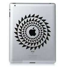 motif #06 Apple Ipad Mac MacBook PC PORTABLE autocollant vinyle décalcomanie.