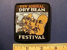 11th dry bean festival patch