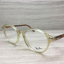 Ray Ban RB 7118 RB7118 Eyeglasses Crystal Yellow Havana 8021 Authentic 48mm