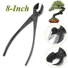 205mm 8'' Garden Branch Cutter Beginner Bonsai Tools Forged Steel Round Edge
