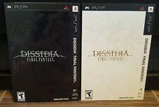 Final Fantasy Dissidia Promo Set of 2 PSP Slip Sleeves - Square Enix