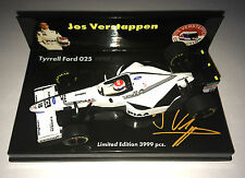 Minichamps F1 1/43 TYRRELL FORD 025 Jos VERSTAPPEN RARE FAN CLUB Limited Edition