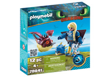 Playmobil 70041 Dreamworks Dragons Astrid with Flight Suit MIB/New