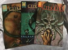 H.P. Lovecraft'S Cthulhu 1 2 3 Comics Set Horror Paul Davis 1st print Nm