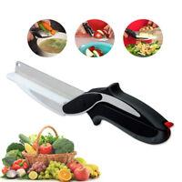 Vegetables Choppers Slicer Kitchen Cutter Salad Fruits Scissors Lettuce Knife