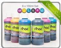 RIHAC Refill ink for Epson XP-960 XP-950 XP-860 277 277XL cartridges for CISS