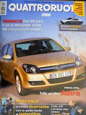 Quattroruote 582 2004 Al volante Audi A8 L 6.0 Quattro. Maserati 4 porte [Q.10]