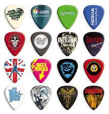 50 X Personalizadas Impresas Premium Guitar Picks Pick Fender