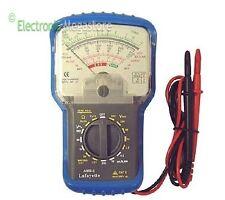 Multimetro Analogico Tester con Custodia 33095010 Lafayette