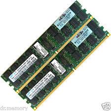4GB 2x2GB DDR2-667 PC2-5300 5300P ECC Registered 240-pin DIMM Server Memory RAM
