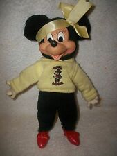 Disney Vintage Minnie Mouse Plush Doll