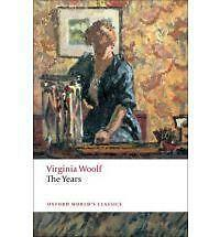 Woolf, Virginia, The Years (Oxford World's Classics), Very Good Book