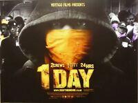 1 Day - Original D/S UK Cinema Quad Poster