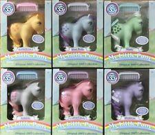 My Little Pony 35th Anniversary 1983 Design  RARE Set Of 6 Ponies HTF