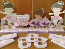 party set 50 pezzi ballerine festa compleanno sweet table compleanno
