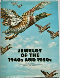 Jewelry of the 1940s and 1950s vintage jewellery book  fine & modernist design