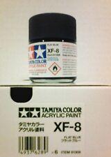 Tamiya acrylic paint. XF-8 Blue, 23ml.