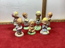 "Lot of 7 1970s Hallmark Betsey Clark 3 - 4"" Figurines Figures W Boxes Adorable"
