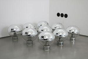 Giant Staff wall lamp Design Motoko Ishii Wandleuchte Lampe space age 70s 1 v 9