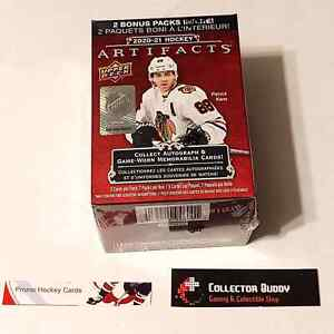 2020-21 UD Upper Deck Artifacts Factory Sealed Blaster Box 7 Packs of 5 Cards