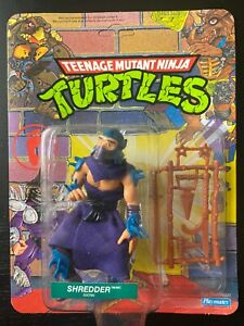 TMNT Shredder; 1990 Unpunched (Foreign Card)