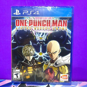 SONY PLAYSTATION PS4 ONE PUNCH MAN A HERO NOBODY KNOWS BY NAMCO 2020 (SEALED)