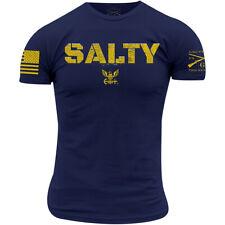 Grunt Style USN - Salty T-Shirt - Navy