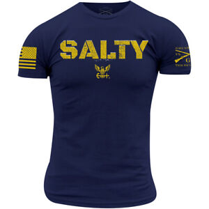 Grunt Style USN - Salty T-Shirt - Navy