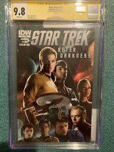 Simon Pegg Autographed Star Trek #21 CGC SS 9.8