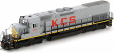 Athearn HO Scale EMD SD40T-2 Diesel Locomotive Kansas City Southern/KCS #6110