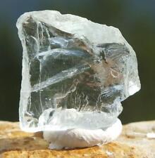 Blue Aquamarine Crystal Raw Uncut Gemstone Facet Rough Mineral Unheated 2.2g
