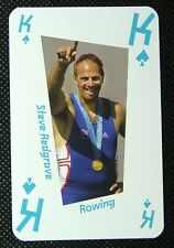 #jc Matthew Pinsent London 2012 Olympic Legend Game / Playing Card Rowing