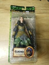 Lord of the Rings ELROND with Elven Sword Attack Action,Toy Biz, MIB