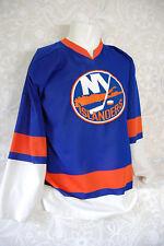 New York Islanders Hockey Jersey Long Sleeve V-neck