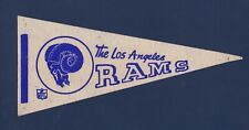 Los Angeles Rams vintage mini felt pro football pennant