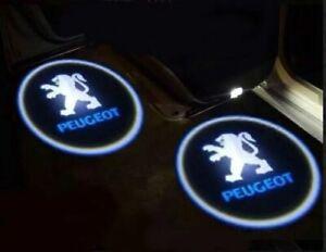 Peugeot LED Logo door puddle 308, 3008, 408, 508, 1007 RCZ Pair, UK stock